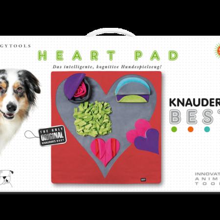 Elbhunde Dresden Knauders Best Heart Pad Karton