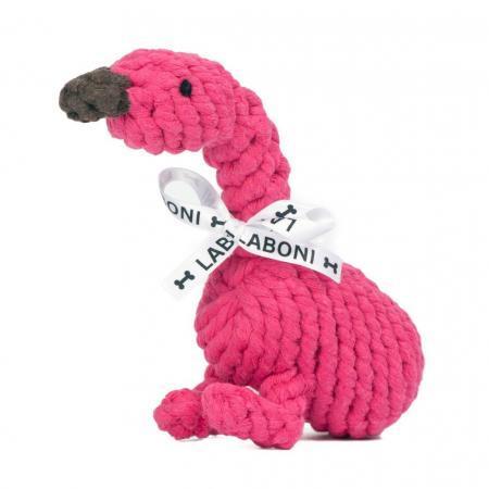 Elbhunde Dresden Laboni Hundespielzeug Franzi Flamingo
