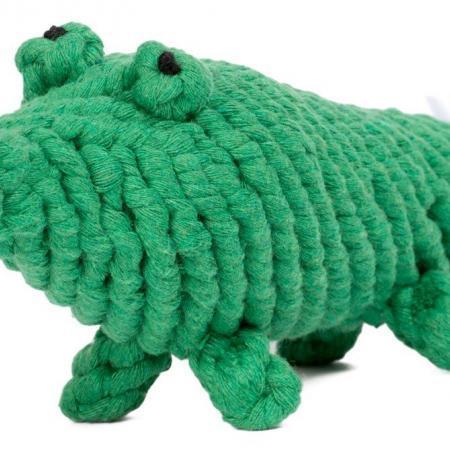 Elbhunde Dresden Laboni Hundespielzeug Kalli Krokodil