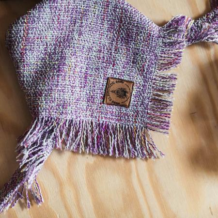 Elbhunde Dresden Hundehalstuch Purple Chic
