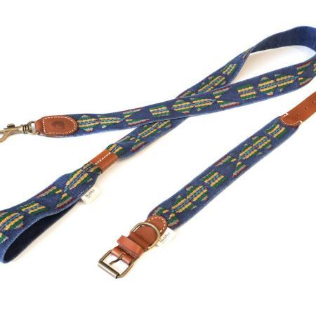 Elbhunde Dresden Buddys Dogwear Etna Blue Set