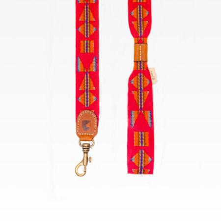 Elbhunde Dresden Buddys Dogwear Etna Red Leine