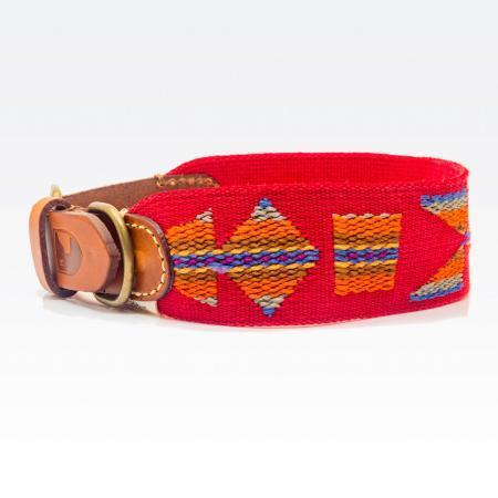 Elbhunde Dresden Buddys Dogwear Etna Red Halsband