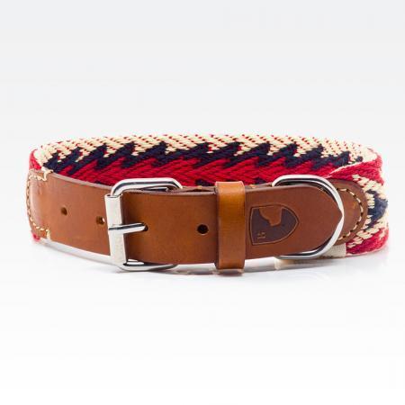 Elbhunde Dresden Buddys Dogwear Peruvian Arrow Halsband Leder