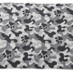 Elbhunde Dresden David Fussenegger Fleece Decke gefüttert Born to be Wild Camouflage Rückseite