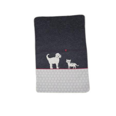 Elbhunde Dresden David Fussenegger Fleece Decke Katze Hund