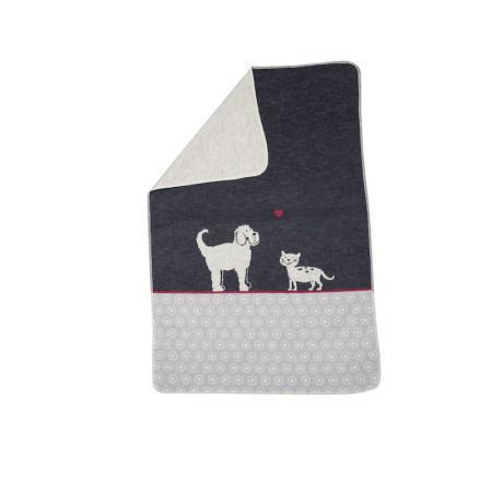 Elbhunde Dresden David Fussenegger Fleece Decke Katze Hund Detail