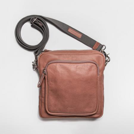 Elbhunde Dresden Cloud7 Crossbody Bag Leder Rosé