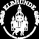 Elbhunde Dresden Logo Weiß