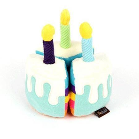 Elbhunde P.L.A.Y. Hundespielzeug mit Quietschie Party Geburtstagskuchen