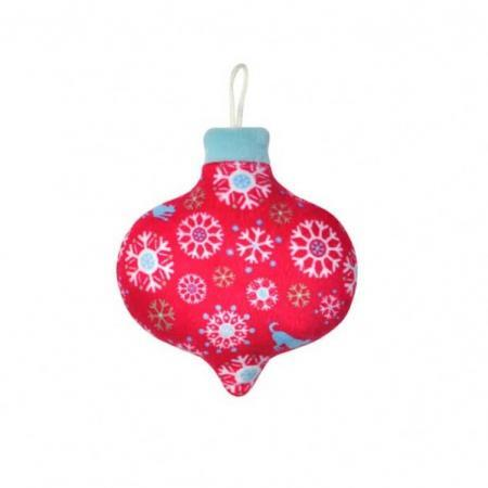 Elbhunde P.L.A.Y. Weihnachtskugel Snowflakes