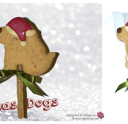 Elbhunde Dresden WauiMiaui Christmas Dog Pop